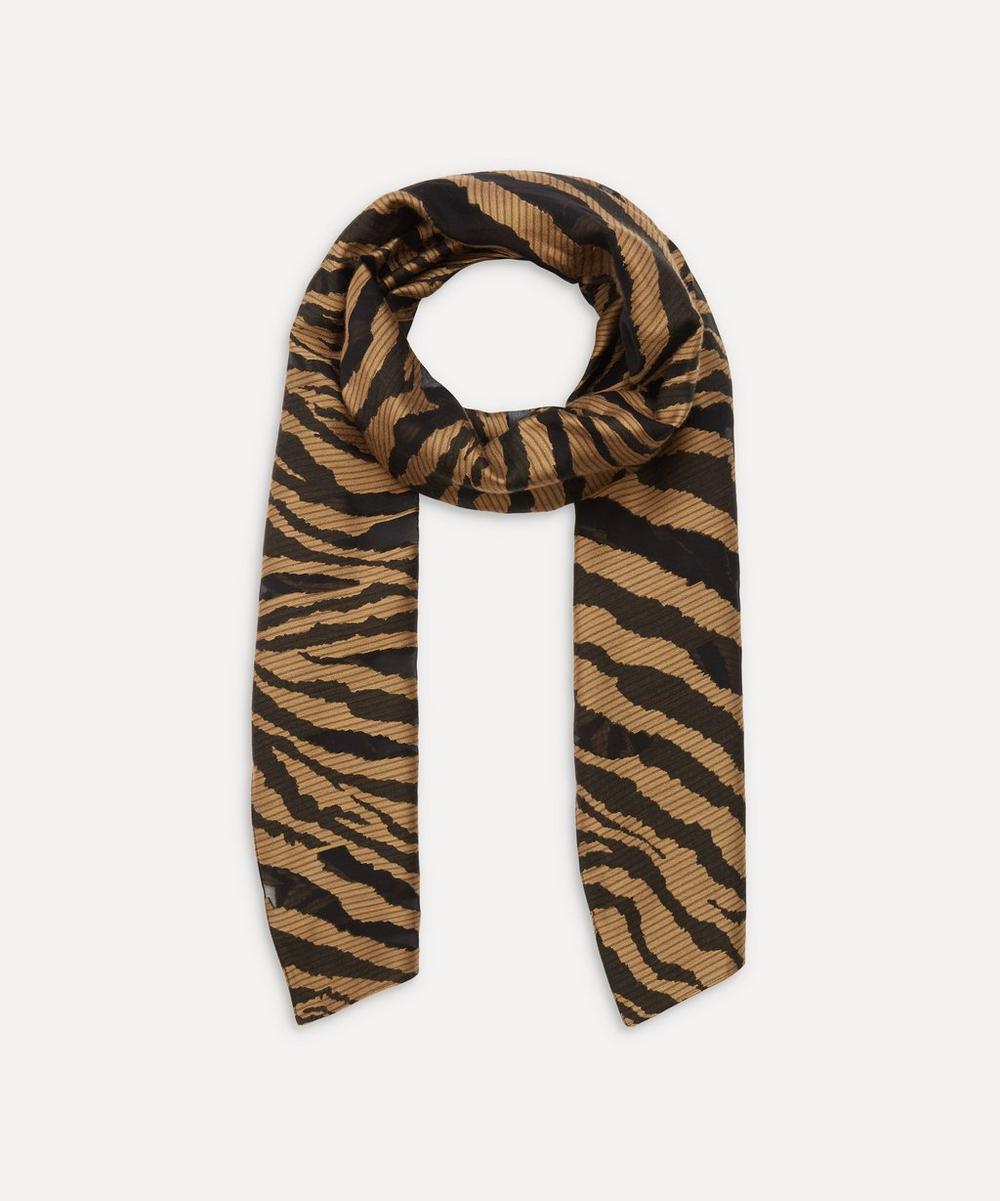 Paul Smith - Zebra Stripe Cotton-Blend Scarf