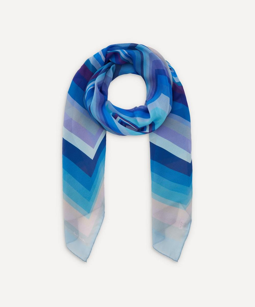 Paul Smith - Multi Block Stripe Scarf