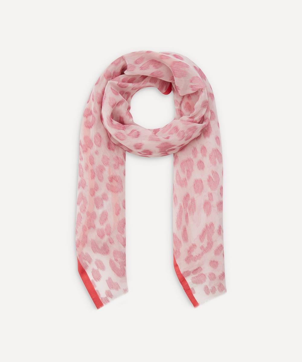 Paul Smith - Leopard Fil Coupé Silk-Blend Scarf