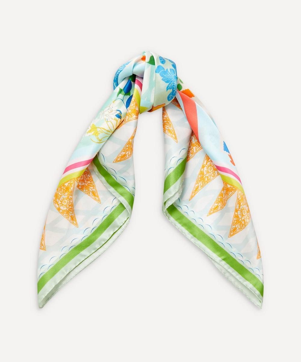 Heti's Colours - Cleo Square Silk Scarf