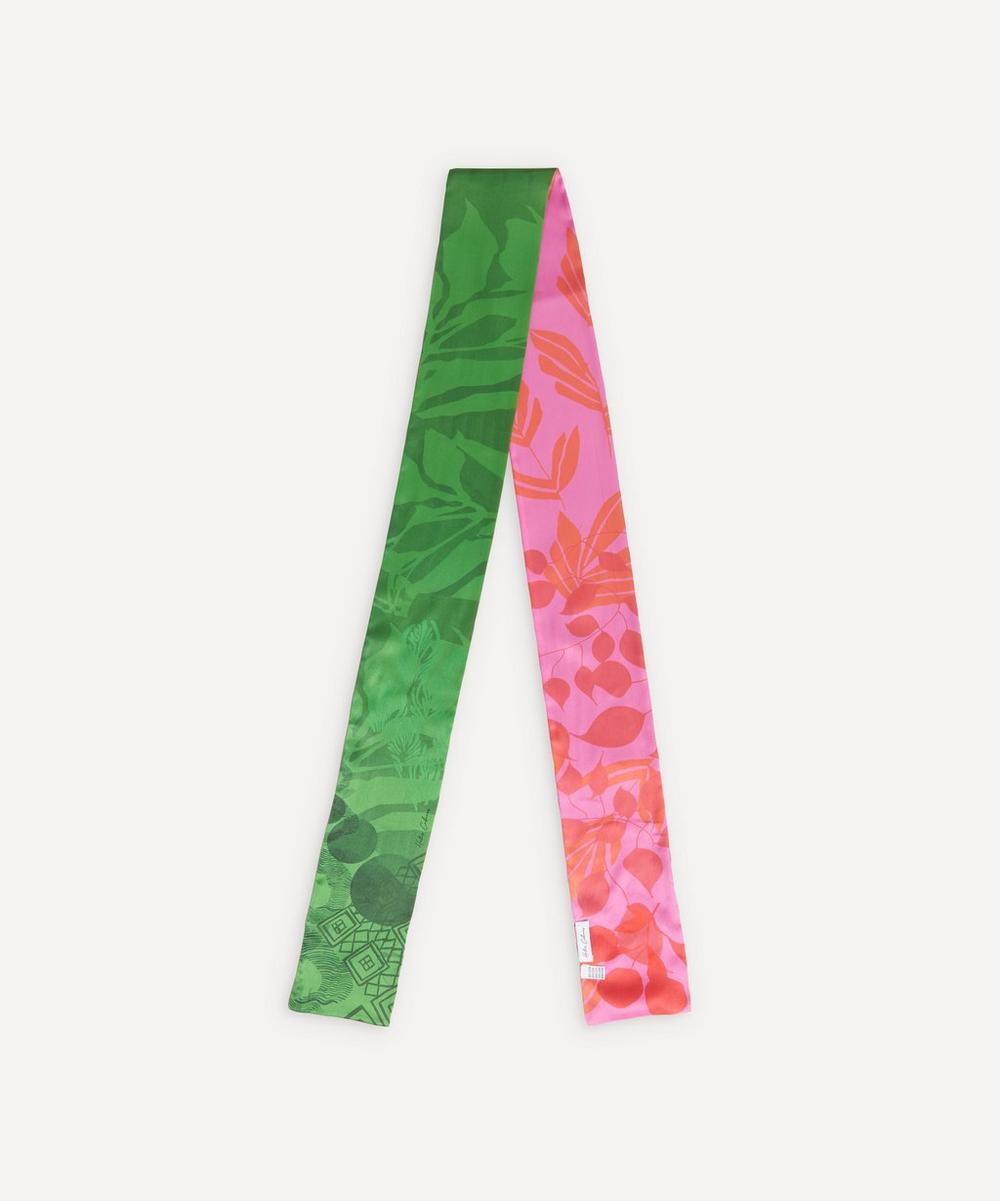 Heti's Colours - Honor Bi-Colour Silk Scarf