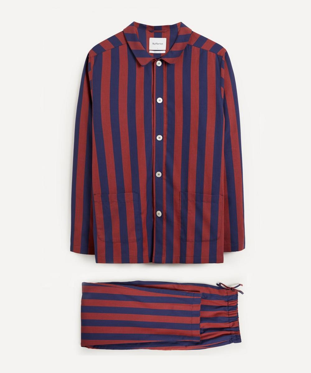 Nufferton - Uno Stripe Cotton Pyjamas