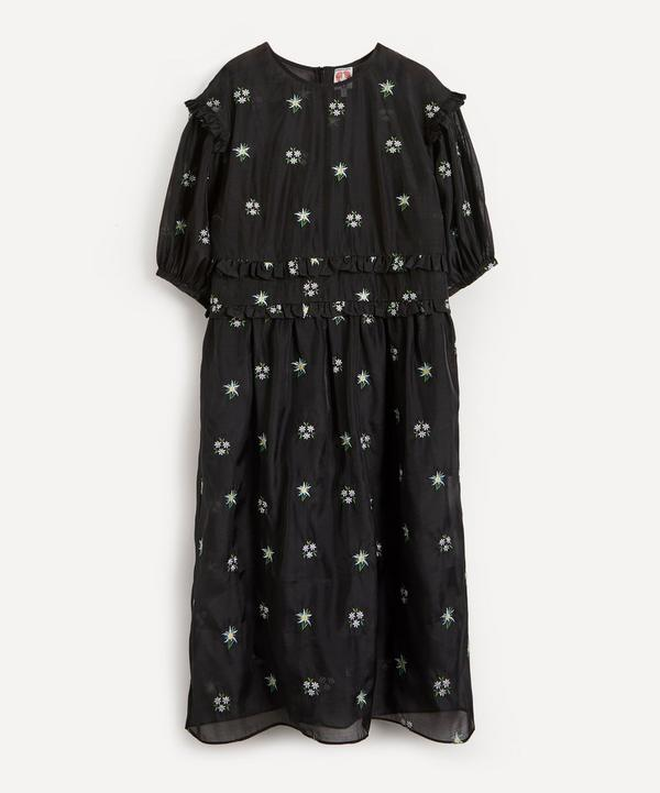 Shrimps - Theodore Embroidered Midi-Dress
