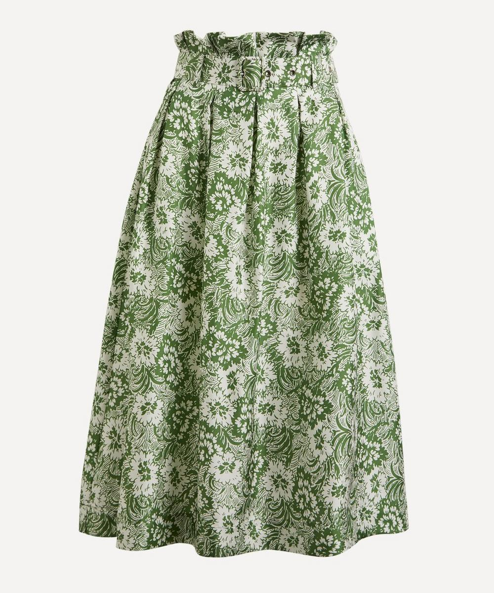 Shrimps - Finlay Floral Silk Circle Skirt