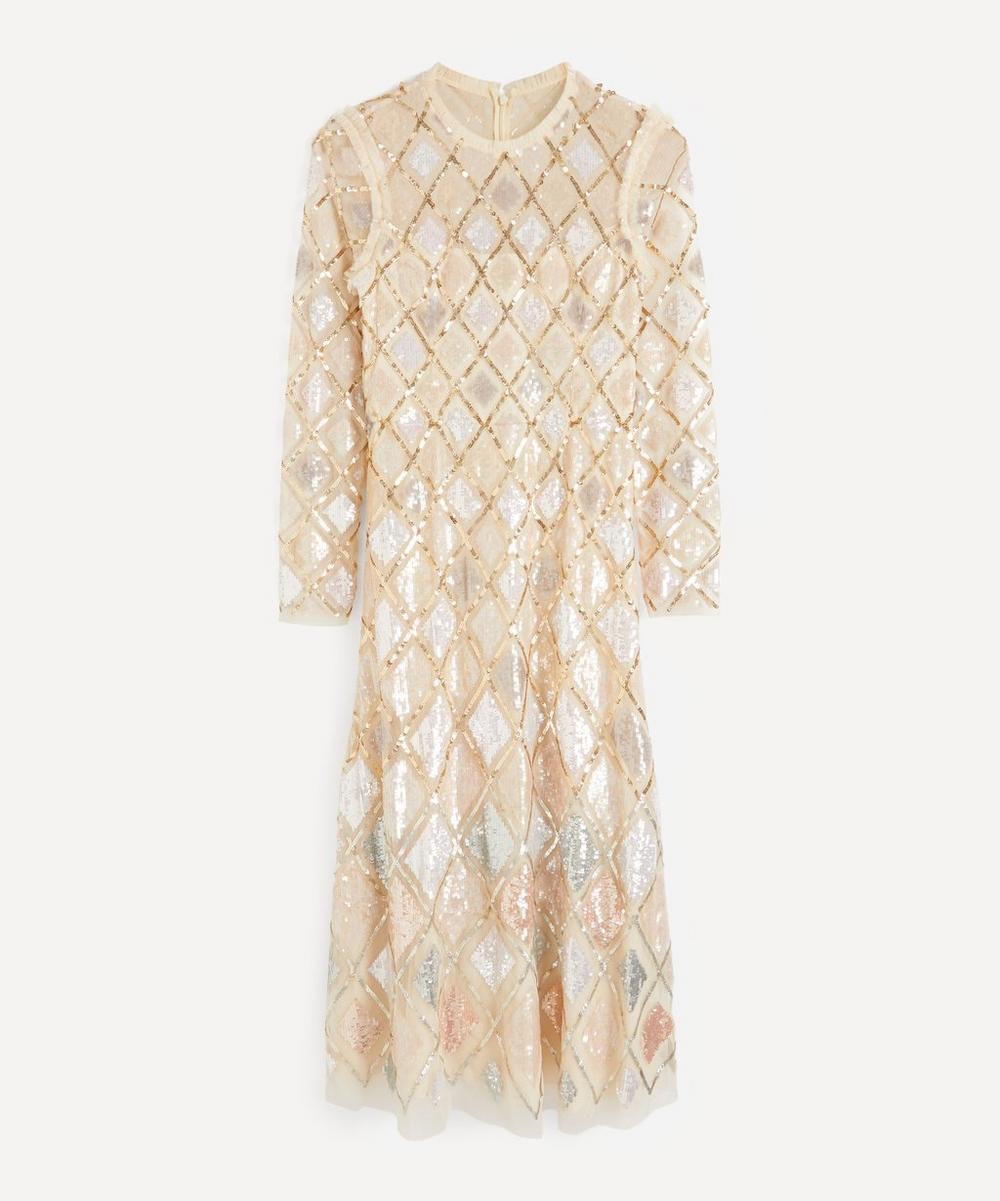 Needle & Thread - Sequin Diamond Ballerina Dress