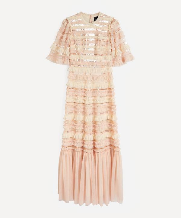 Needle & Thread - Nancy Stripe Frill Gown