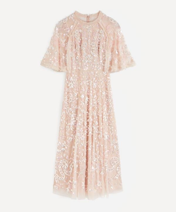 Needle & Thread - Sequin Ribbon Ballerina Maxi-Dress
