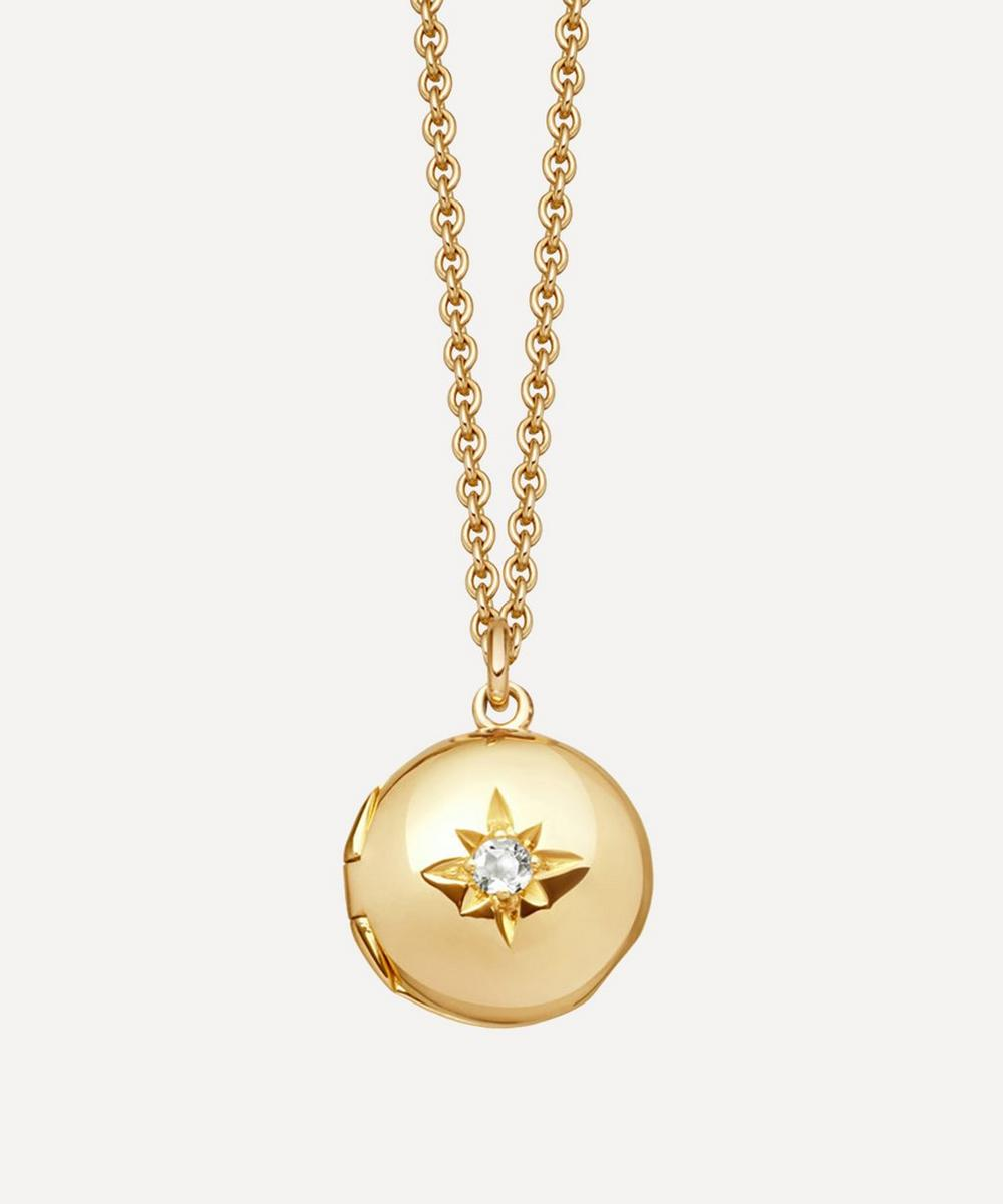 Astley Clarke - Mini Biography Locket Necklace
