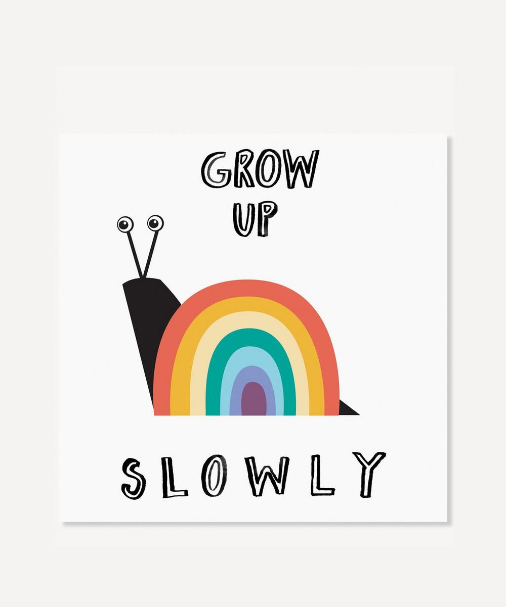 Karin Akesson - Rainbow Grow Up Slowly Print