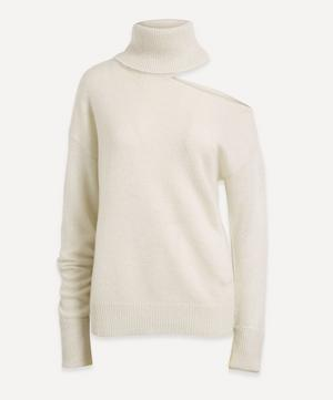 Raundi Roll-Neck Cut-Out Sweater