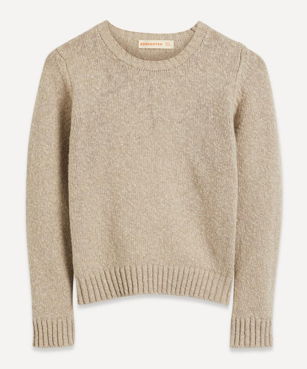&Daughter - Sorcha Wool Crew-Neck Knit