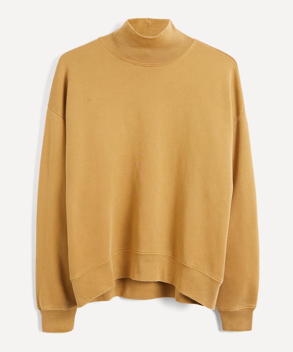 Frame - Organic Cotton Funnel-Neck Sweatshirt