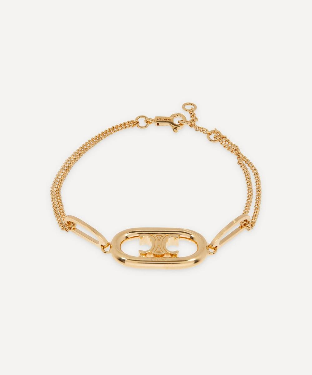 Celine - Gold-Tone Maillon Triomphe Chain Bracelet image number 0
