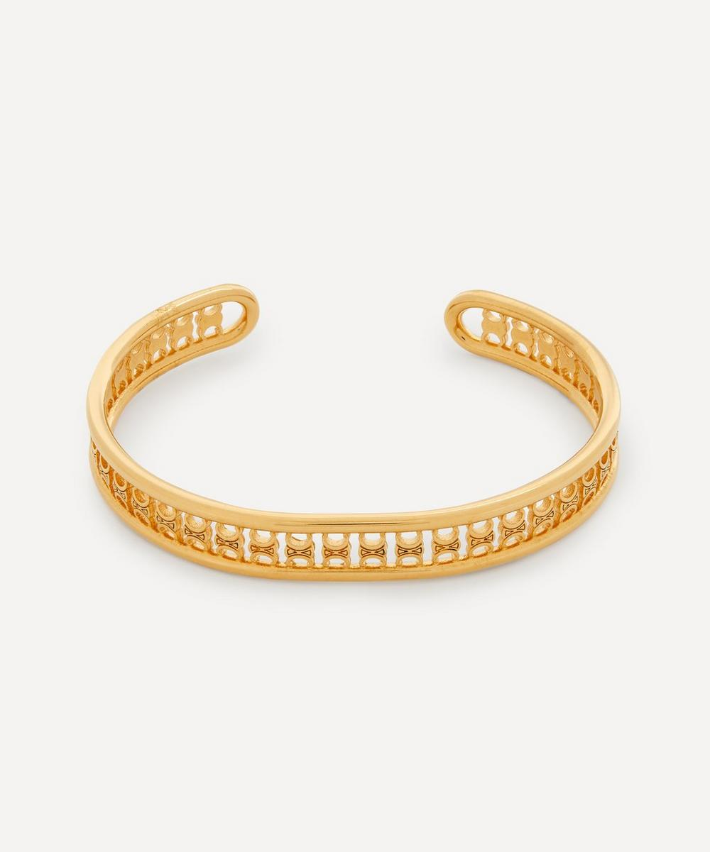 Celine - Gold-Tone Maillon Triomphe Multi Cuff Bracelet