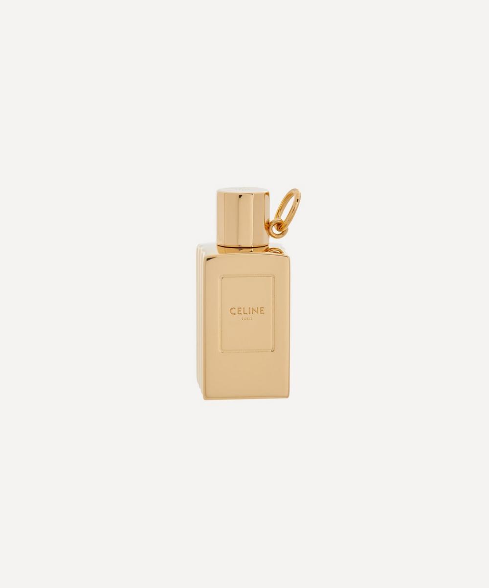 Celine - Gold-Tone Celine Separables Small Perfume Bottle Pendant