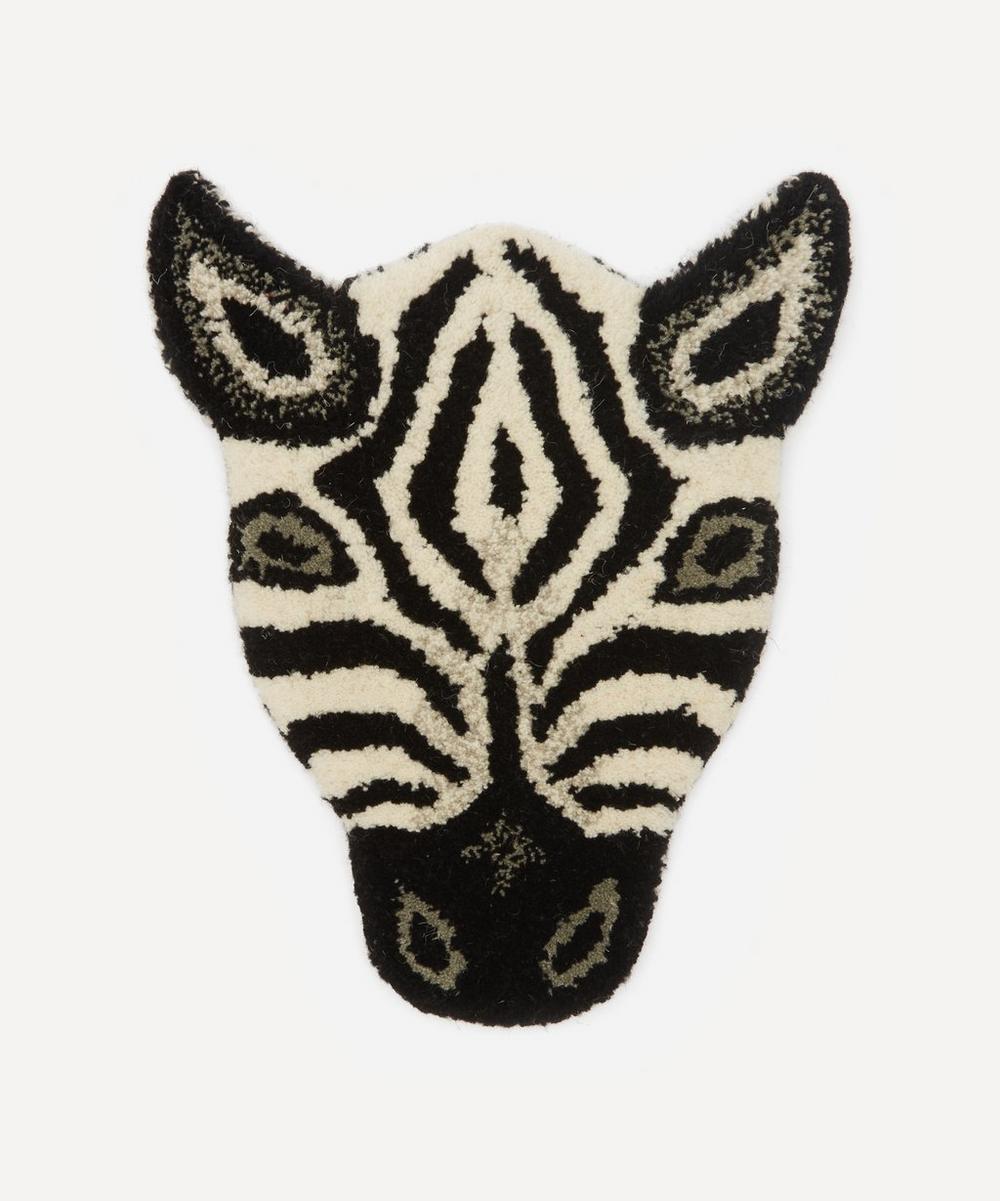 Doing Goods - Chubby Zebra Head Rug