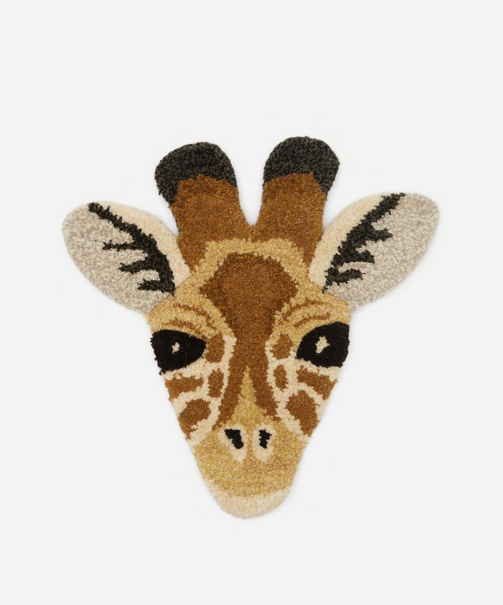 Doing Goods - Giraffe Head Rug