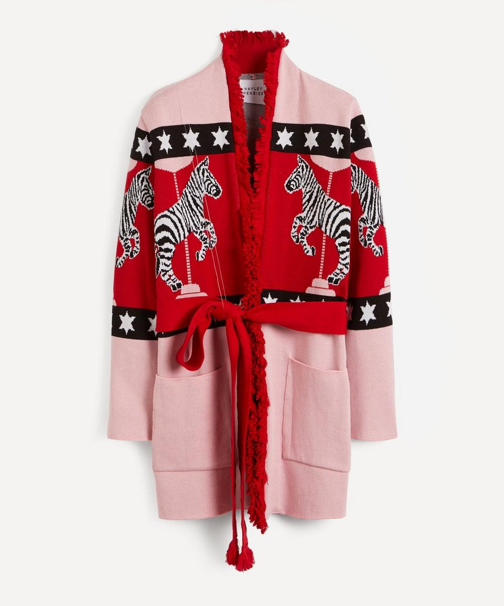 Hayley Menzies - Carousel Cotton Jacquard Cardigan