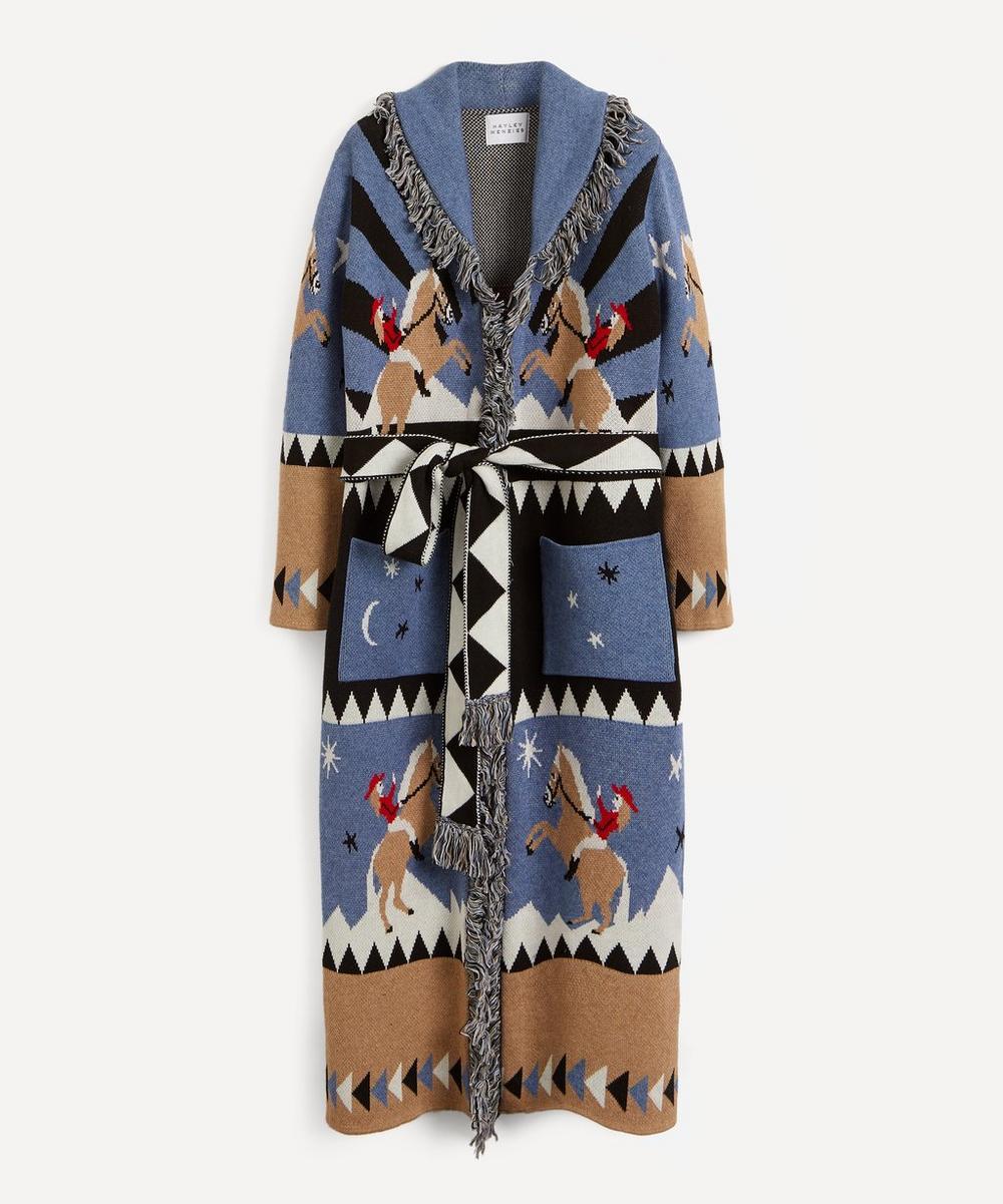 Hayley Menzies - Rodeo Merino Wool-Cotton Duster Jacket