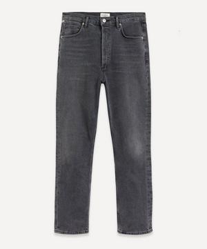 Charlotte High-Rise Straight-Leg Jeans