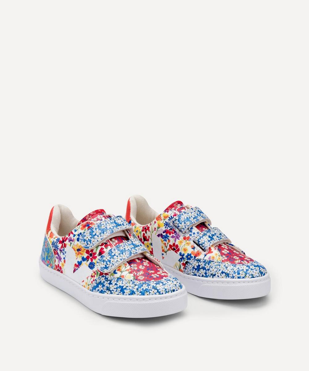 Veja Kids - x Liberty V12 Harmony Leather Sneakers Size 22-27