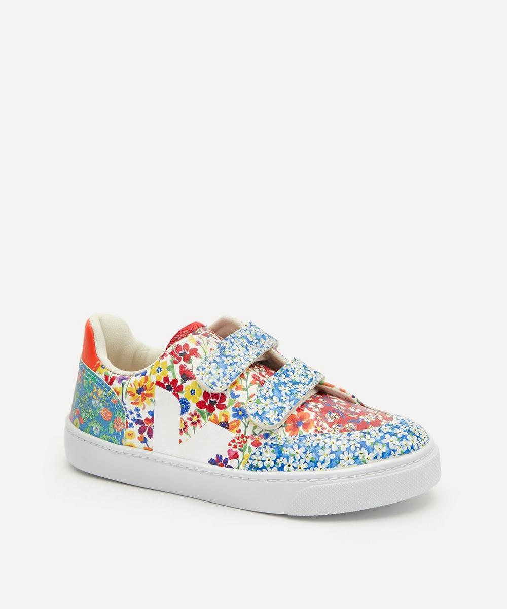 Veja Kids - x Liberty V12 Harmony Leather Sneakers Size 28-31