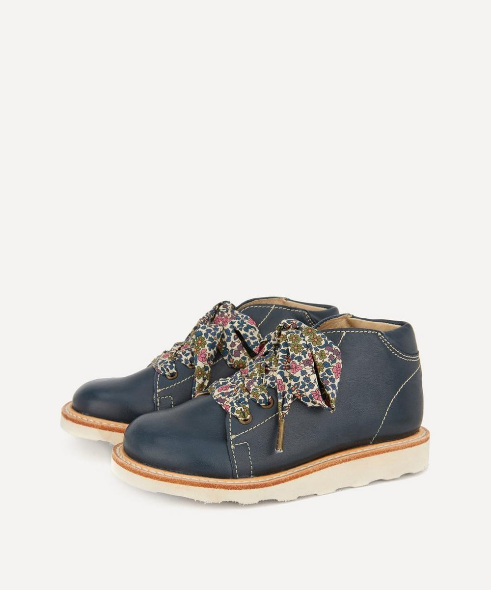Young Soles - Hattie Liberty Lace Monkey Boots Size 21-25