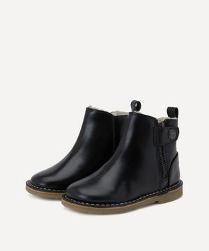 Winston Wool-Lined Ankle Boots Size 20-25