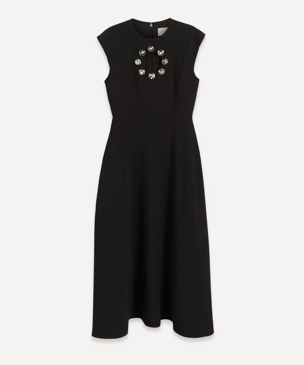 Christopher Kane - Crystal Cut-Out Midi-Dress
