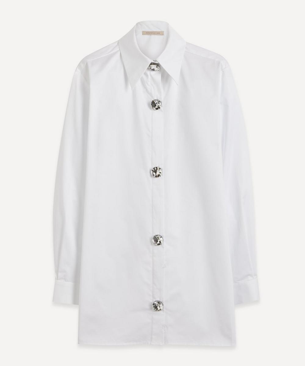 Christopher Kane - Crystal Cotton Shirt
