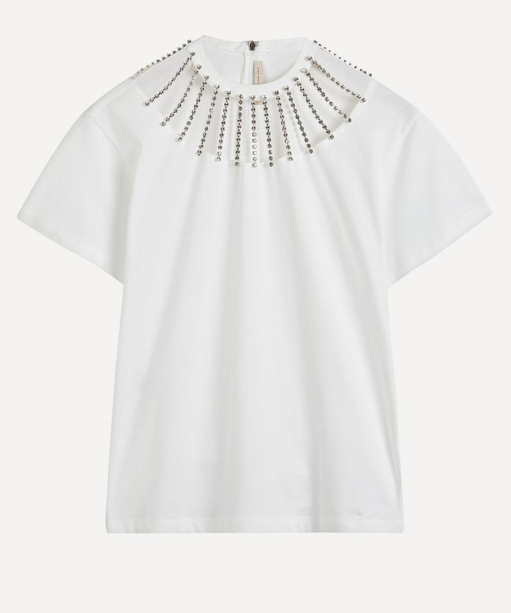 Christopher Kane - Jewel Neckline T-Shirt