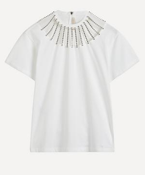 Jewel Neckline T-Shirt