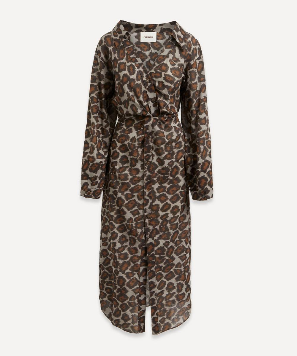 Nanushka - Ayse Twist-Front Dress
