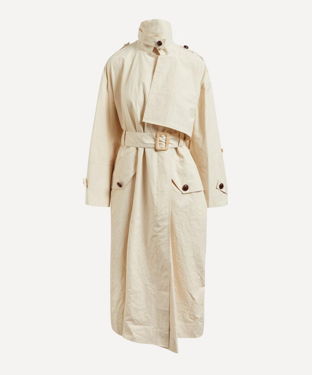 Nanushka - Caylei Poplin Coat