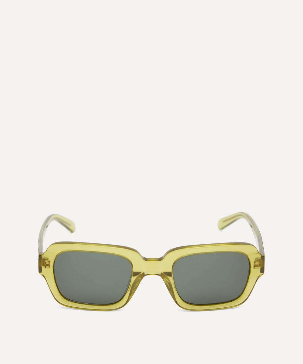 Han Kjobenhavn - Code Bold Rectangular Acetate Sunglasses