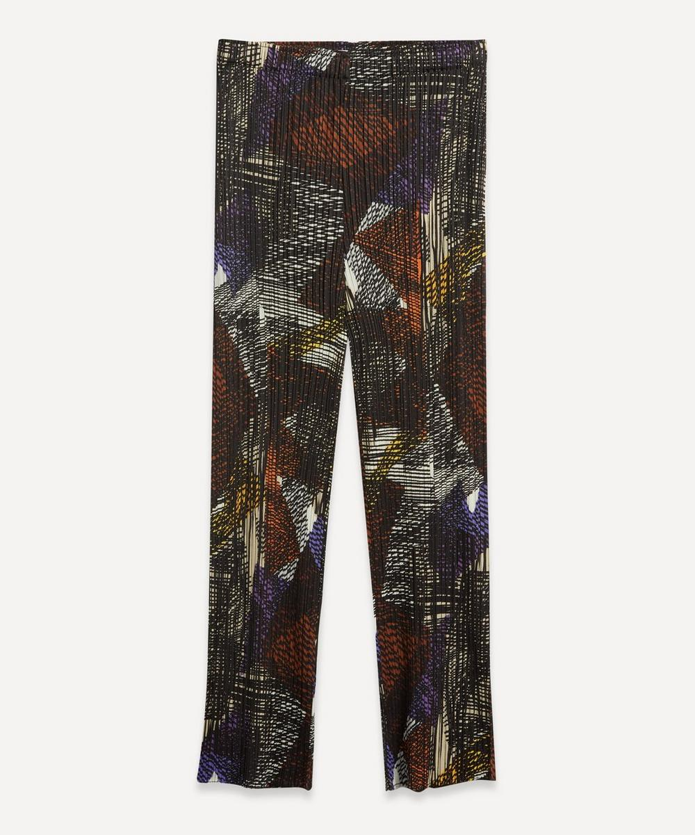Pleats Please Issey Miyake - Andante Print Tapered Trousers