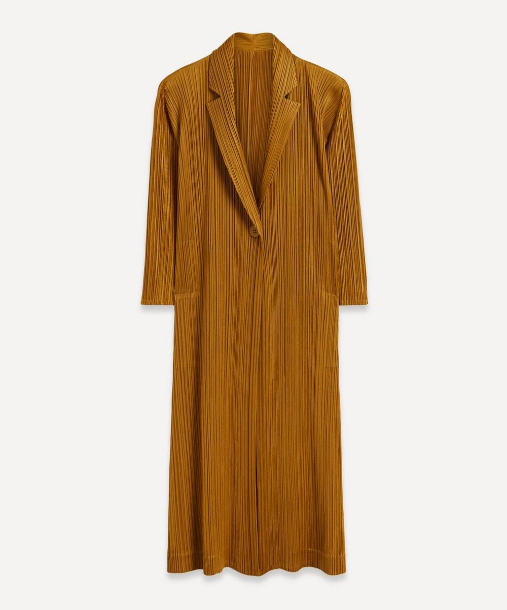 Pleats Please Issey Miyake - Long Pleated Cardigan Jacket