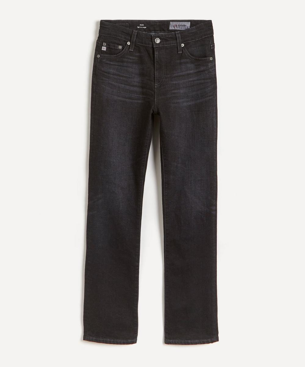 AG Jeans - Mari High-Waist Straight-Leg Jeans