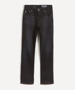 Mari High-Waist Straight-Leg Jeans