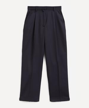 Sophie Wide-Leg Wool Trousers