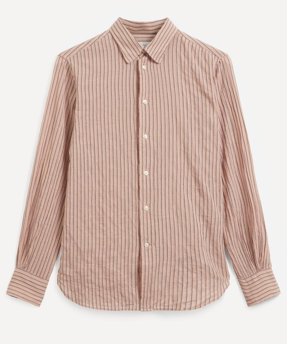 Officine Générale - Benoit Cotton Stripe Shirt