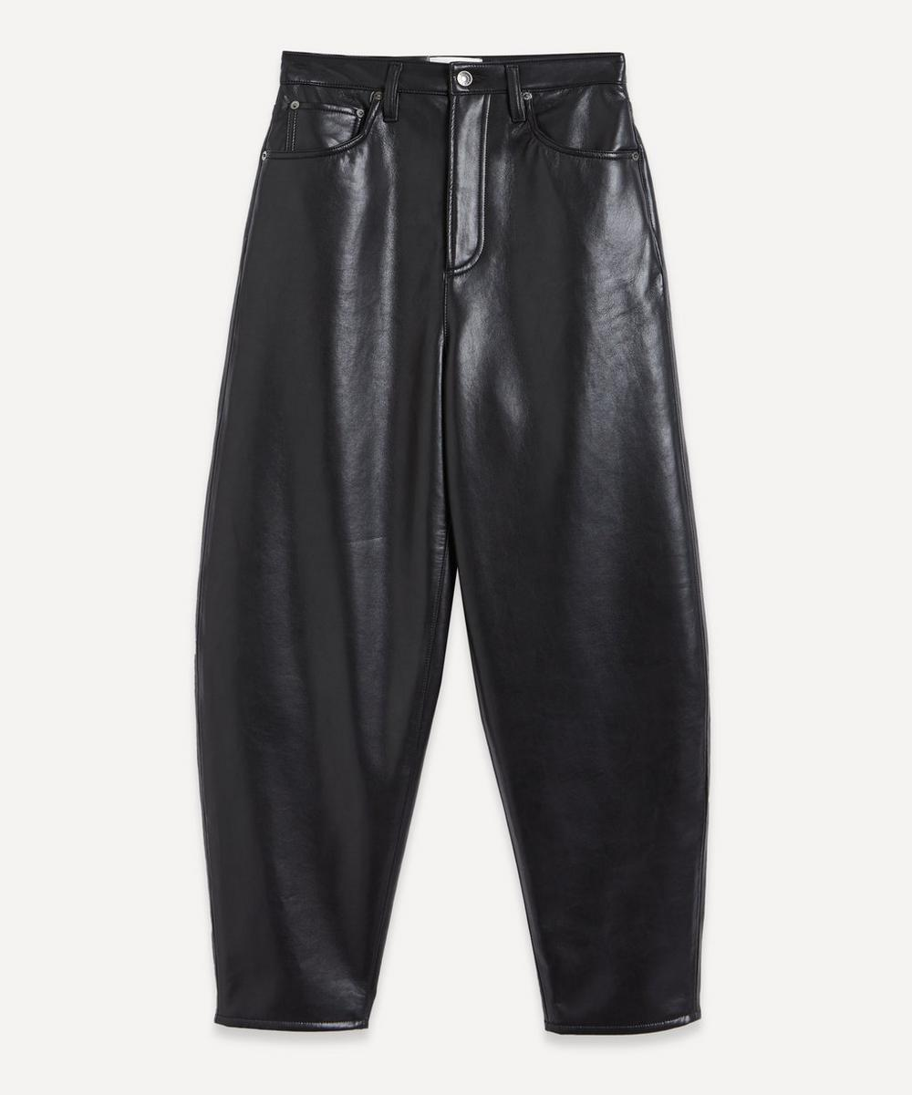 AGOLDE - Recycle Eco-Leather Balloon Jeans