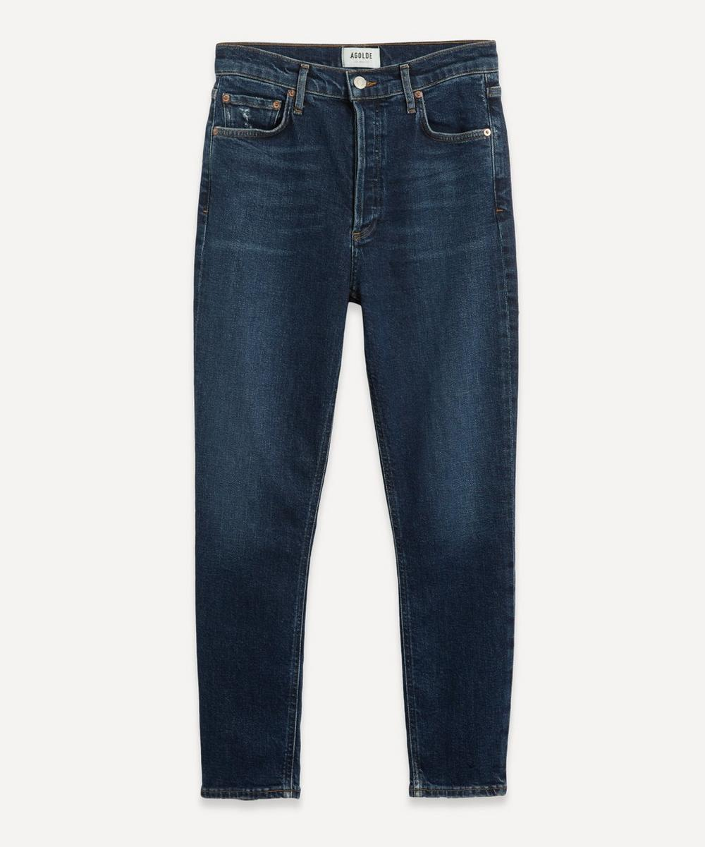 AGOLDE - Nico High Rise Slim Fit Jeans