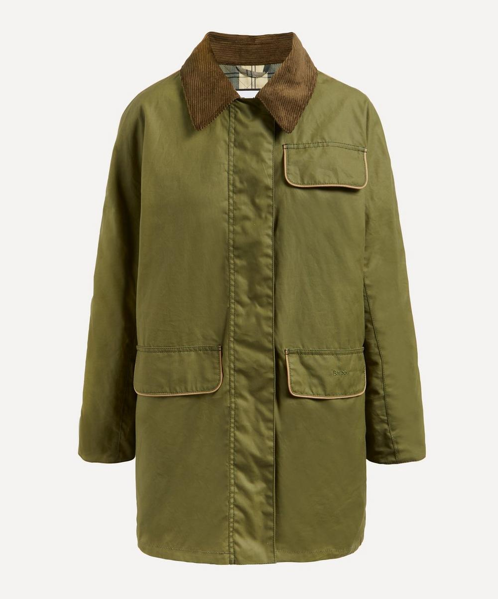 Barbour - Barbour by ALEXACHUNG Cyril Grandpa Wax Jacket