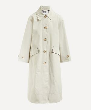 Barbour by ALEXACHUNG Julie Long Cotton-Mix Coat
