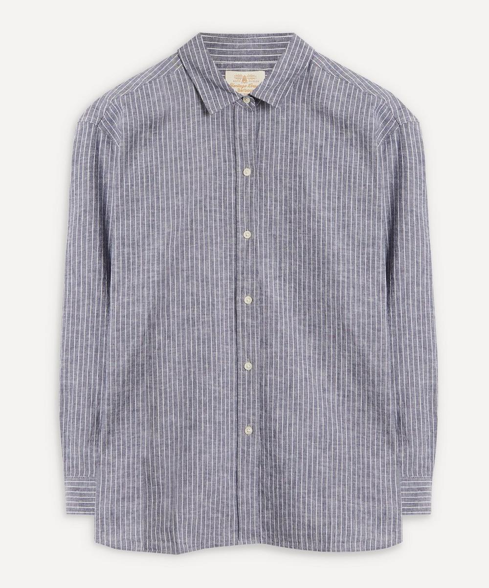 Barbour - Alexandra Striped Cotton-Linen Shirt