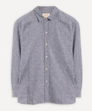 Alexandra Striped Cotton-Linen Shirt