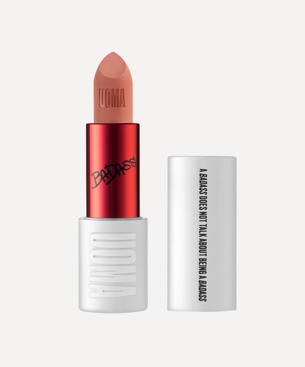 UOMA Beauty - BadAss Icon Matte Lipstick in Maya