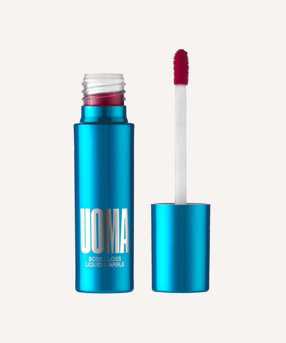 UOMA Beauty - Boss Gloss Pure Colour Lip Gloss in Zero FK