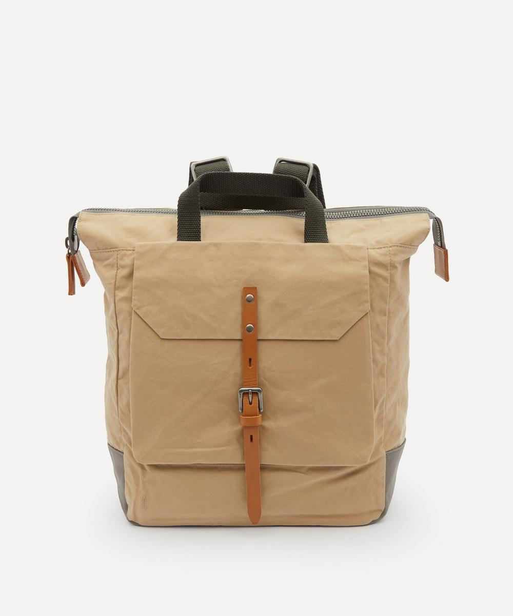 Ally Capellino - Fin Waxed Cotton Backpack